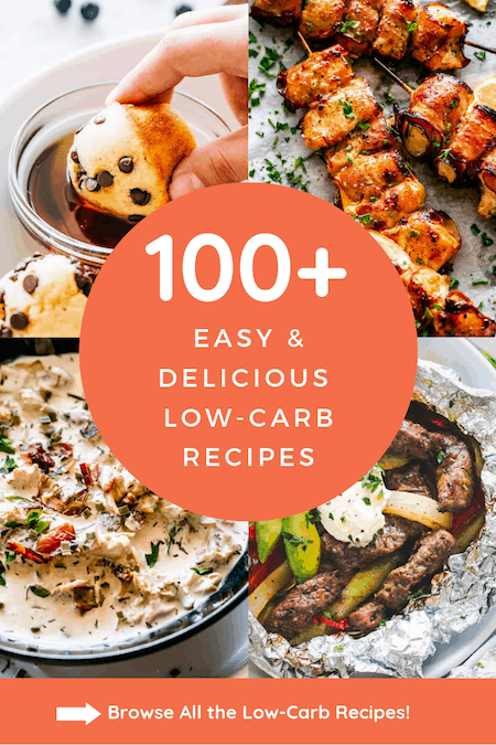 Low Carb Breakfast, Lunch and Dinner Ideas - Easy Low Carb Recipes