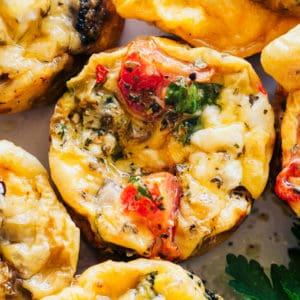 Easy Breakfast Egg Muffins | Tasty & Healthy Keto Breakfast Idea