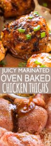 BAKED CHICKEN THIGHS PIN