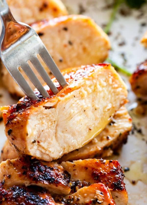 Juicy Stove Top Chicken Breasts