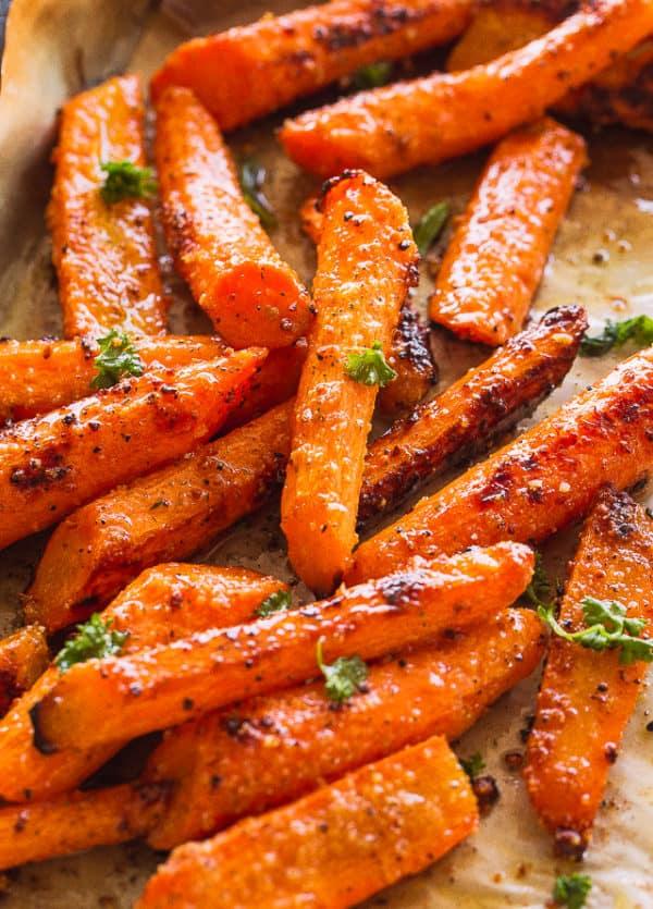 Roasting Carrots