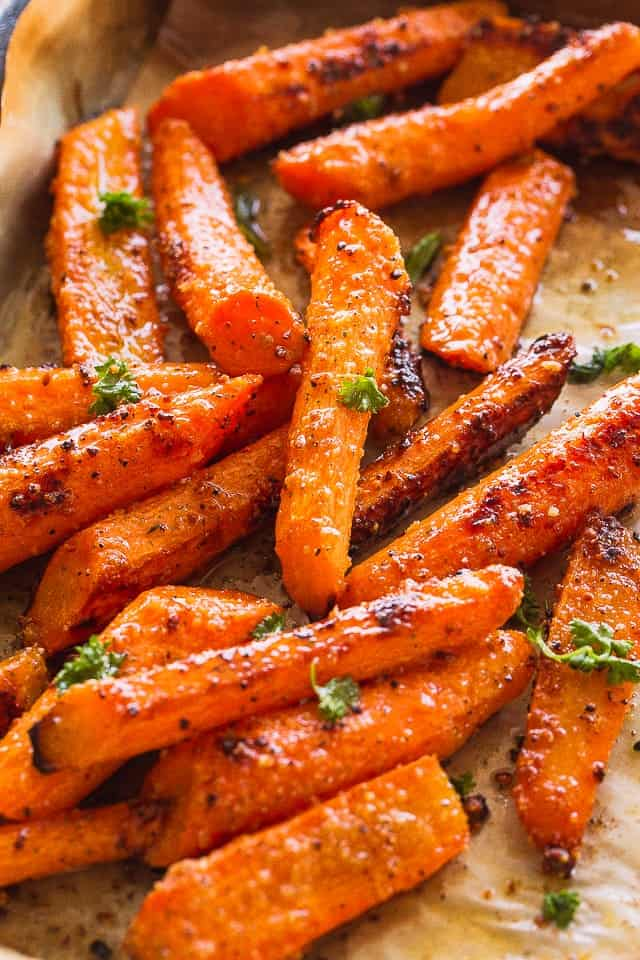 Image result for roasted carrots