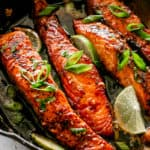 Honey Garlic Sauce Salmon