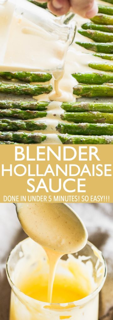 Hollandaise Sauce pinterest collage
