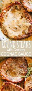 Round Steak Pinterest Pin