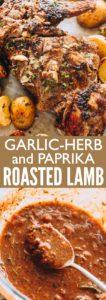 Roast Leg of Lamb Pin for Pinterest