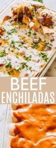 Beef Enchiladas Pin Image