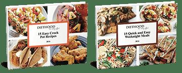Diethood Cookbooks