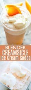 Creamsicle Ice Cream Soda pin image.