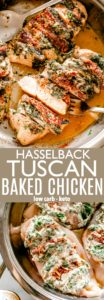 Tuscan Baked Chicken Pin Image