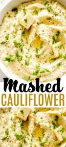Mashed Cauliflower Pin Image