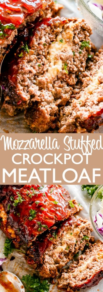 Meatloaf in the crock pot Pin Image
