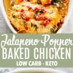 Jalapeno Chicken Long Pin Image