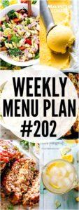 Weekly Menu Plan 202 Pin Image