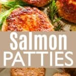 Salmon Patties Pin Image