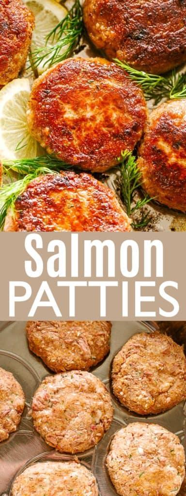 Salmon Patties Pin Image