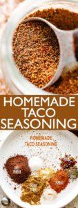 Taco Seasoning Mix Pin Image