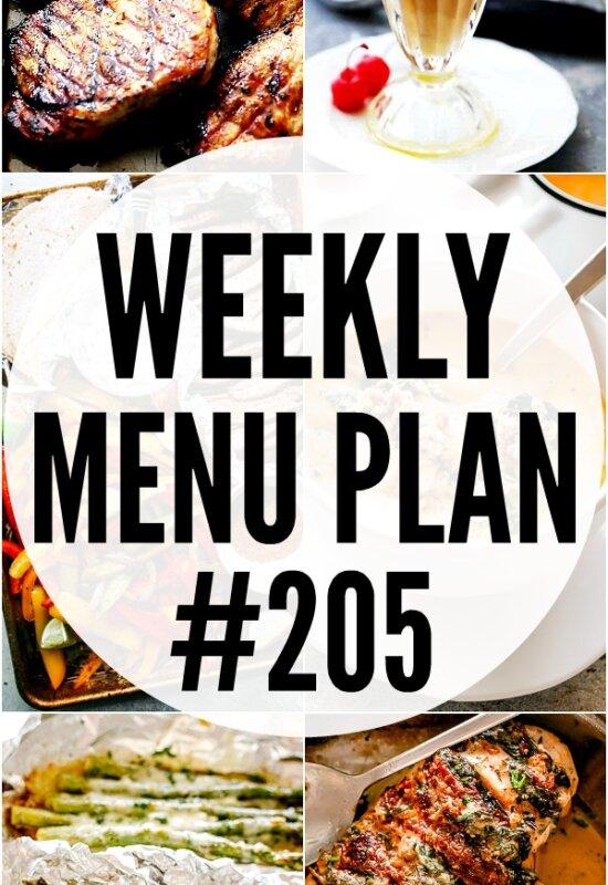 Menu Plan 205 Pin Image