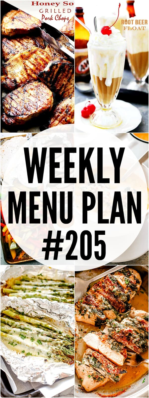 Menu Plan 205 Pin Image