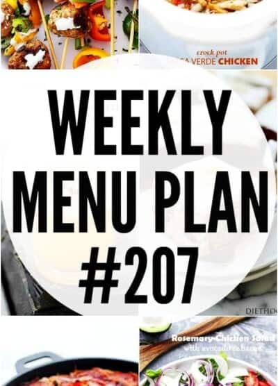 WEEKLY MENU PLAN 207 PIN IMAGE