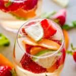 Easy White Wine Sangria