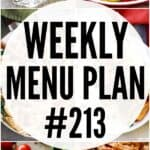 WEEKLY MENU 213 PIN IMAGE