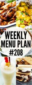 WEEKLY MENU PLAN 208 PIN IMAGE