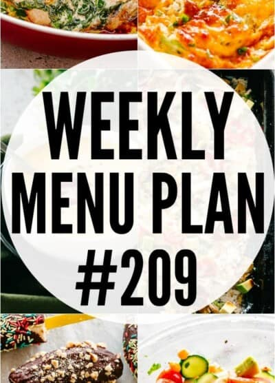 WEEKLY MENU PLAN 209 PIN IMAGE