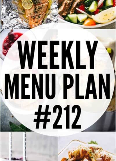 WEEKLY MENU PLAN 212 PIN IMAGE