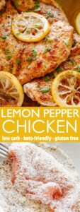 Lemon Pepper Chicken Pin Image