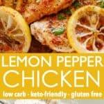 Lemon Pepper Chicken Pin Image