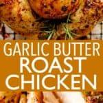 roast chicken pin image