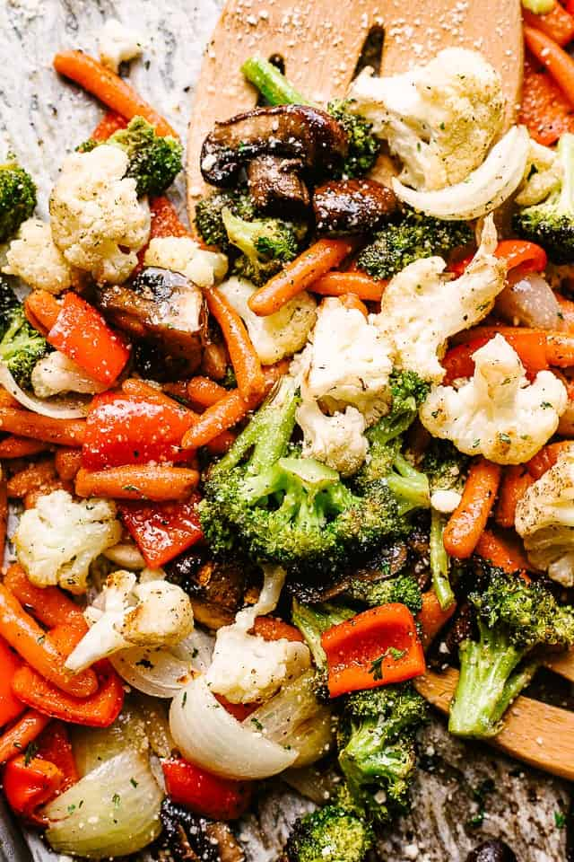 Easy Oven Roasted Vegetables Recipe Diethood
