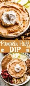 Pumpkin Fluff Dip Pin Image