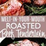 roasted beef tenderloin pinterest image