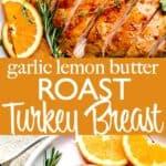 roast turkey breast pin image
