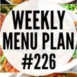 MENU PLAN 226 PIN IMAGE