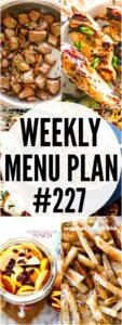 WEEKLY MENU PLAN 227 PIN IMAGE