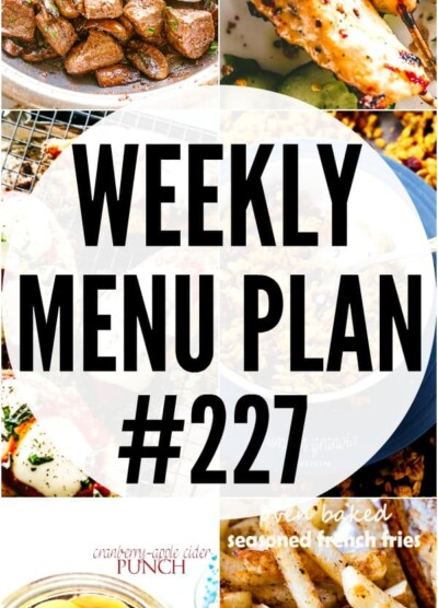 WEEKLY MENU PLAN 227 PIN IMAGE