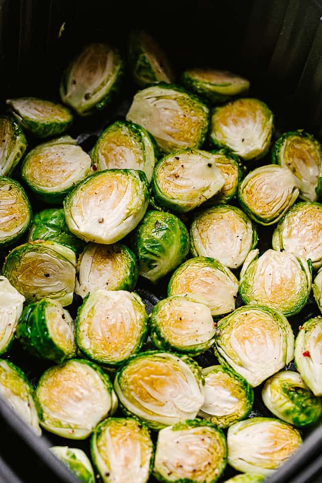 cooking brussels sprouts in air fryer