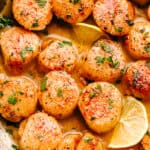 Garlic Butter Scallops