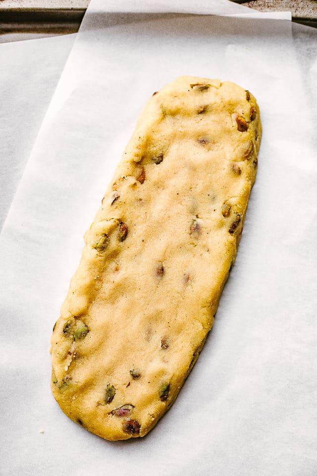 biscotti dough
