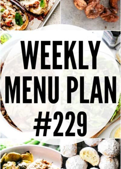 WEEKLY MENU PLAN 229 PIN IMAGE
