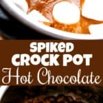 spiked hot chocolate pin image