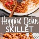 Hoppin' John Skillet photo collage