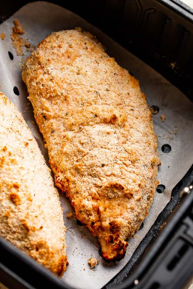 buttermilk panko covered chicken breasts