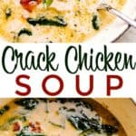 crack chicken soup pin image