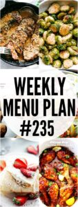 WEEKLY MENU PLAN 235 PIN IMAGE