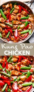 kung pao chicken pin image