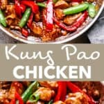 kung pao chicken pin image